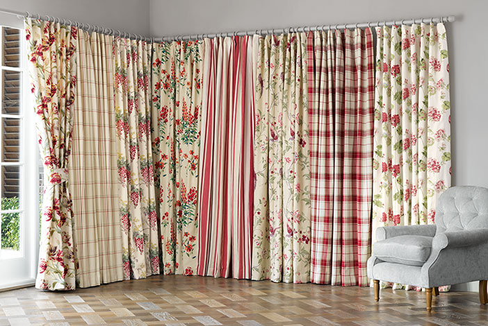 sublimated curtains