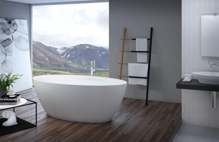 Titan_OVAL_bathtub_ambient Materijali i proizvodi u građevinarstvu.