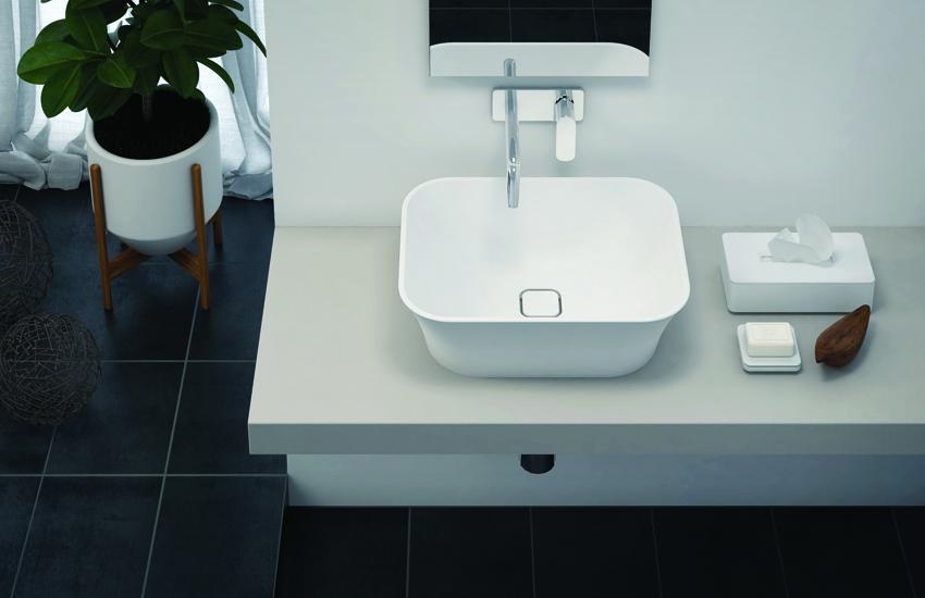 Titan_square_sink_counter_top ASTONE - TITAN oval kada