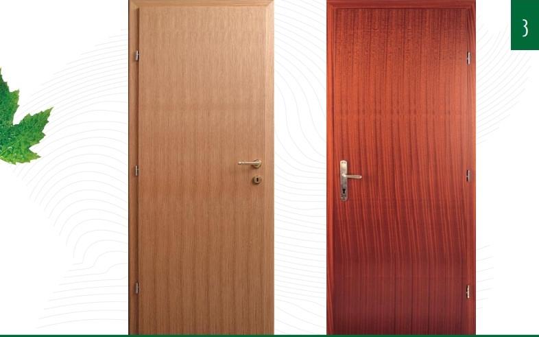 Furnirana Vrata po mjeri Javor