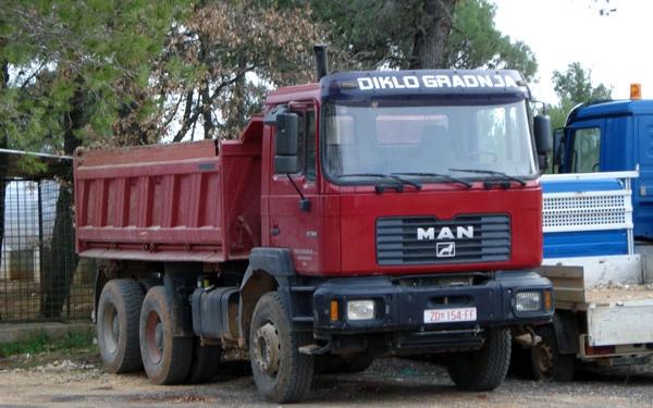 kamion_6 Materijali i proizvodi u građevinarstvu.