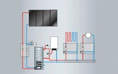 Viessmann_solarna_instalacija Viessmann energetski učinkovita dizalica topline za toplu i higijenski ispravnu vodu