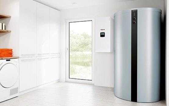 Medjuspremnik_topline Viessmann energetski učinkovita dizalica topline za toplu i higijenski ispravnu vodu