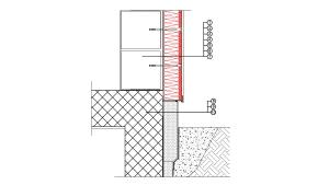 2-1-1 Kontaktne fasade (ETICS) izvedbeni detalj  | Rockwool