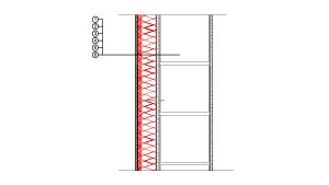 2-1-2 Kontaktne fasade (ETICS) izvedbeni detalj  | Rockwool