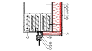 2-1-4 Kontaktne fasade (ETICS) izvedbeni detalj  | Rockwool