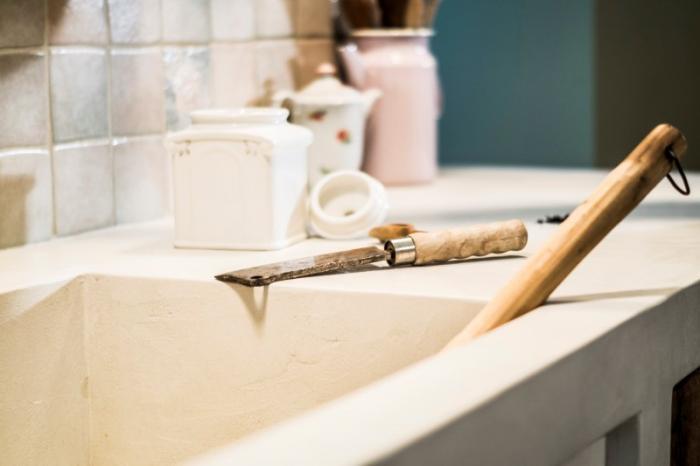 Kako postići betonski izgled kuhinje?
